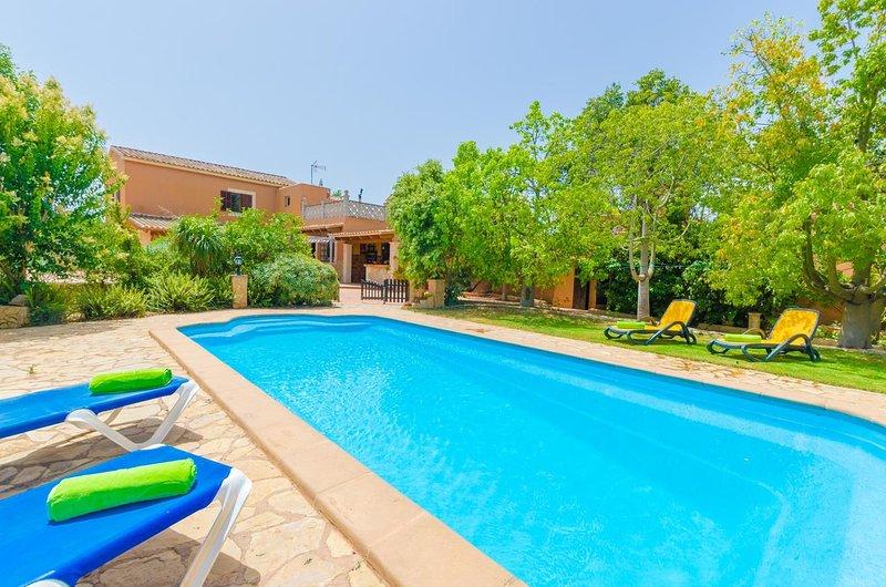 Casa Pili mallorca, holiday rental in Felanitx