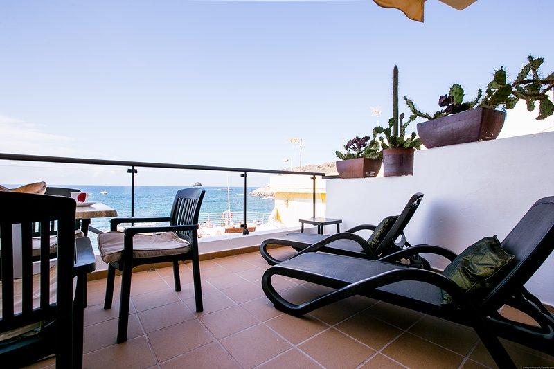Apartment Caleta Sunrises, sea view, holiday rental in La Caleta