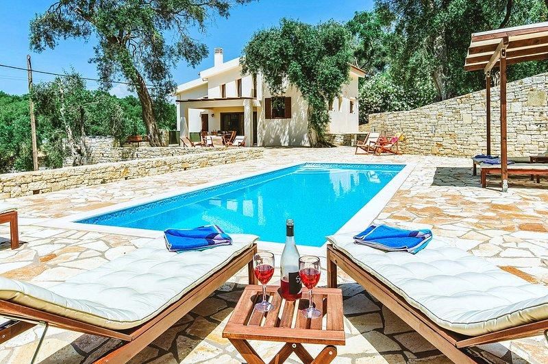 Annita Villa, holiday rental in Antipaxos