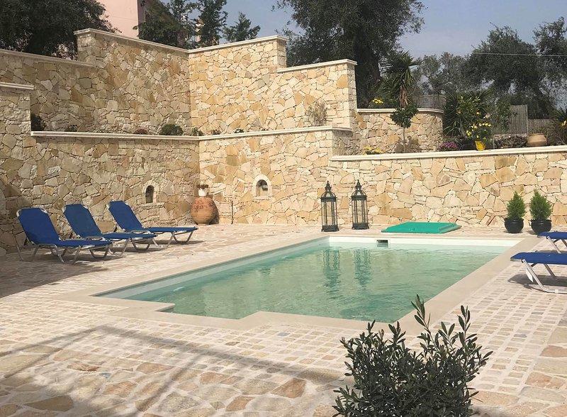 Ntina House - Paxos Retreats, holiday rental in Mougkelatika