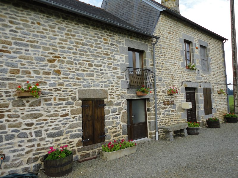 Les Chenes farmhouse beautiful rural location, vacation rental in Sougeal