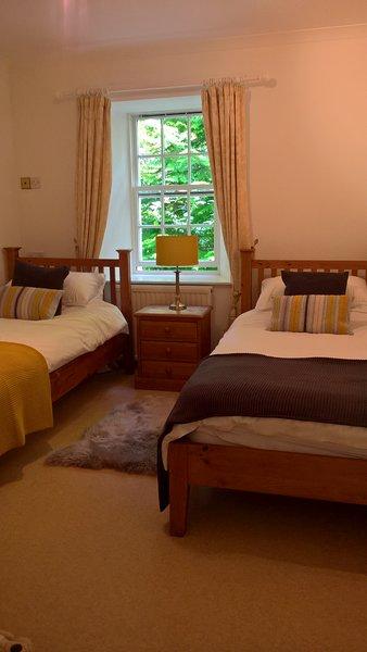 Habitación doble con camas individuales de tamaño completo