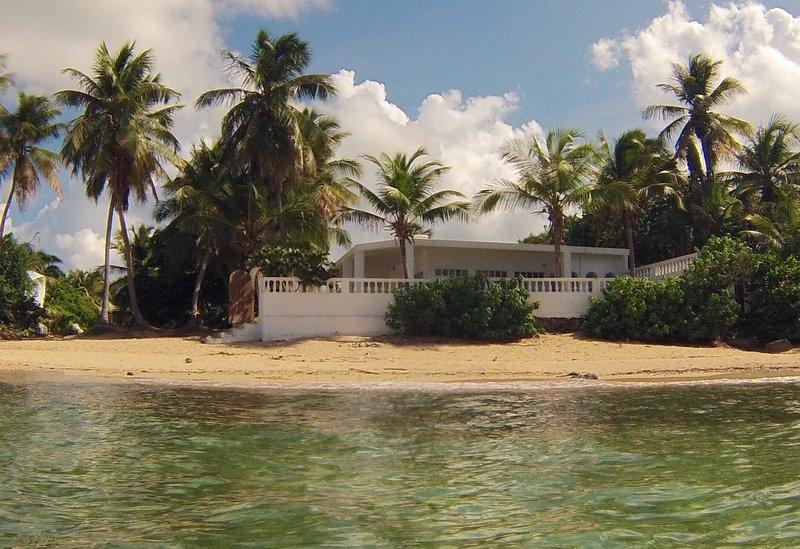 Los Cocos, truly beachfront