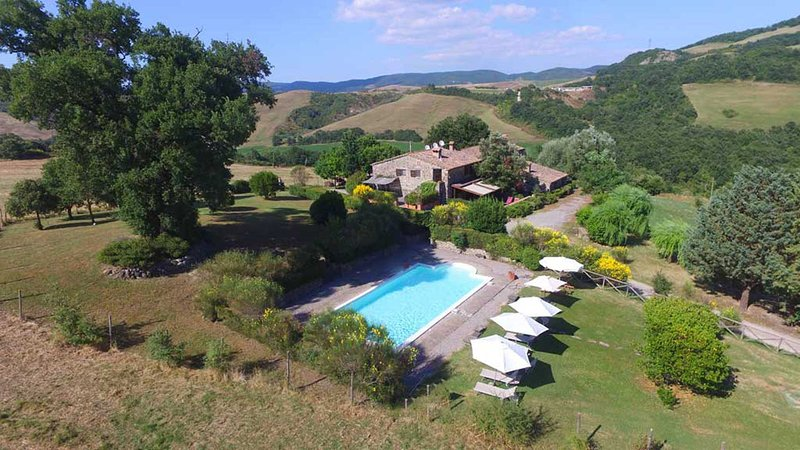 Cottage Val d'Orcia, vakantiewoning in Pienza