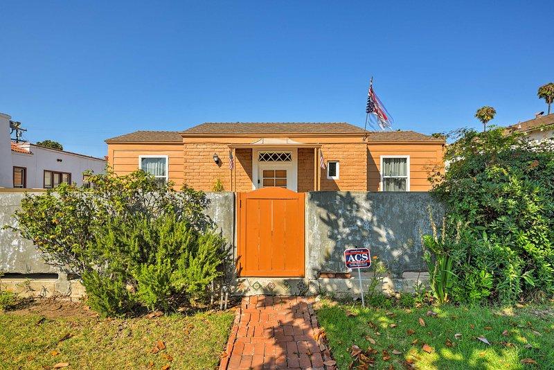 Unwind in this 2-bedroom, 2-bathroom vacation rental home in Culver City.