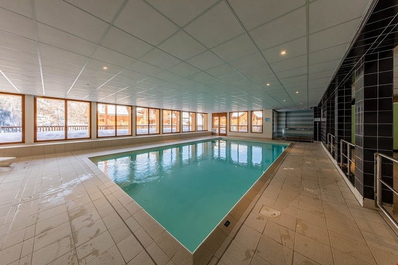 Refresh yourself in the gorgeous heated indoor pool.