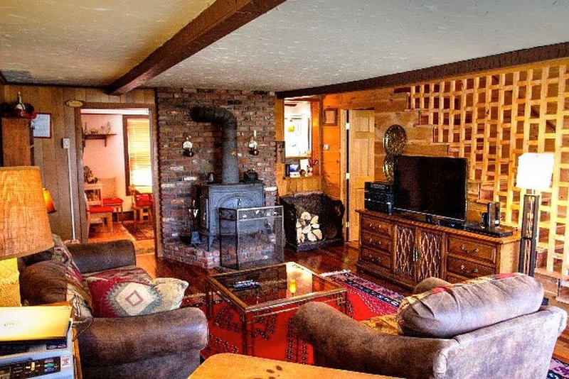 Come in sit, relax and enjoy the warm fire and cozy atmosphere.
