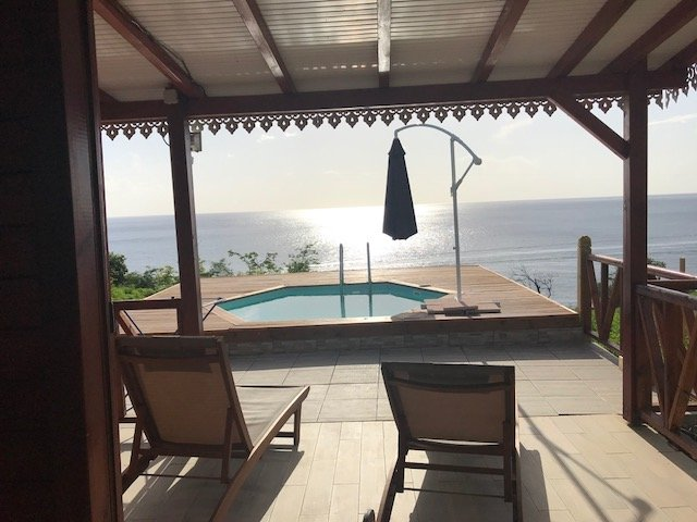 BUNGALOW Mathilde, nature et vue mer, vacation rental in Marigot