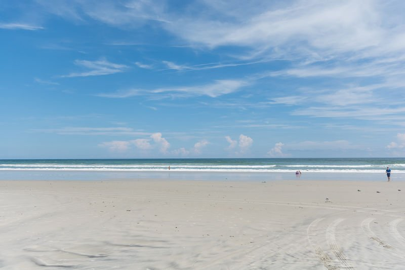 Beautiful New Smyrna Beach. Car free area. Just a short walk from the house.