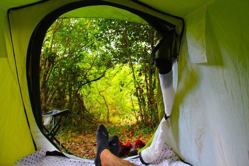 Agape Farm Camp: (Double Tent 17), location de vacances à Bigova
