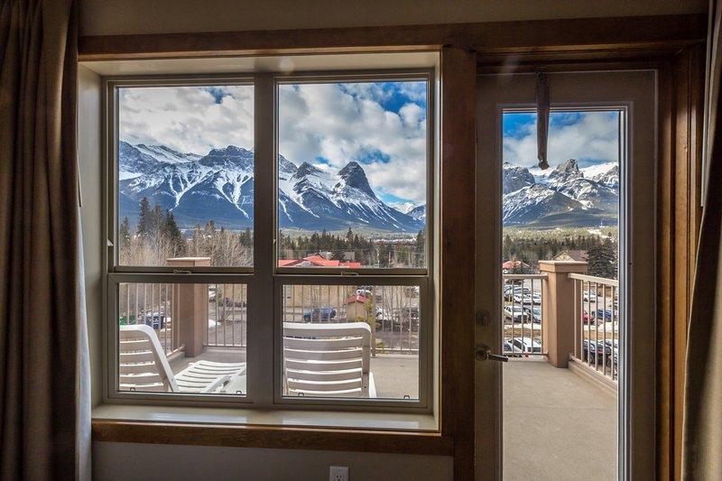 ¡Abre la puerta y sal a tu balcón privado!