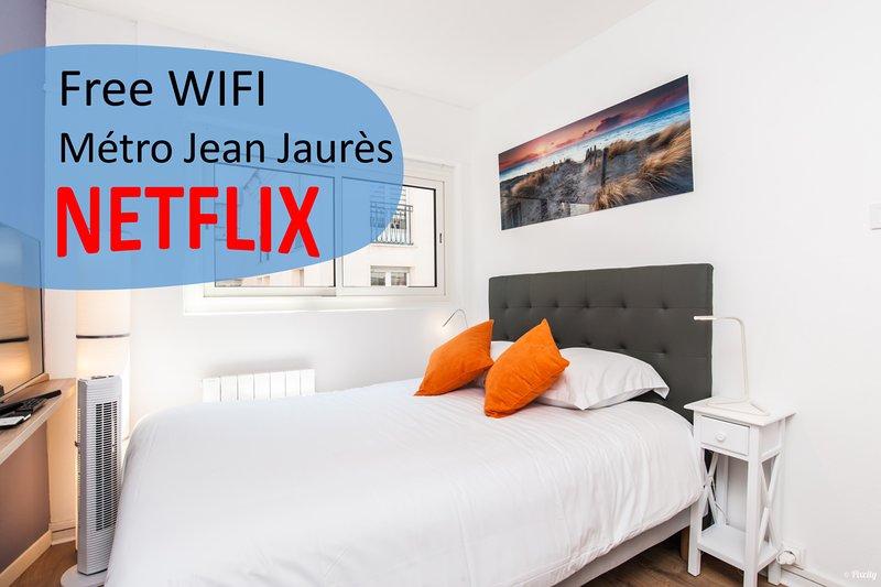 ⭐ Fantastic cosy studio ⭐ Metro Jean Jaures ⭐, holiday rental in Quint-Fonsegrives