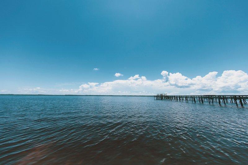 Ochlochonee Bay vid din bakdörr.