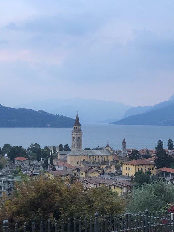Domaso - pueblo junto al lago