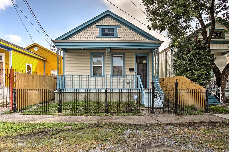 Ce charmant cottage créole est le meilleur moyen de vivre la Nouvelle-Orléans!