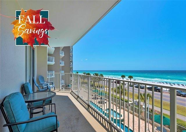 Majestic Sun 301B Gulf View Condo avec balcon privé