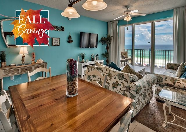 Majestic Sun 403B - Dining Room With Gulf Views