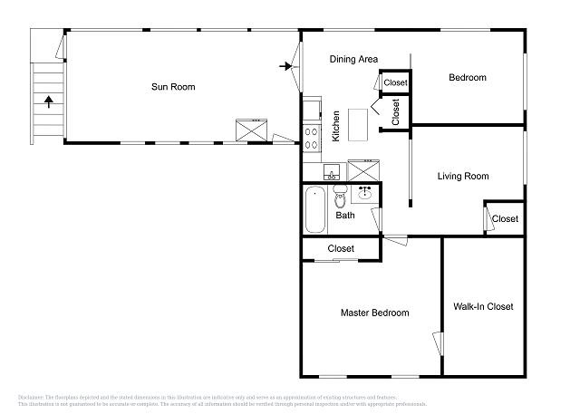 Upstairs Unit Floor Plan