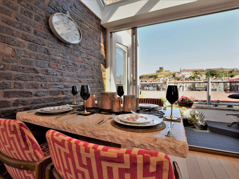 Fabulous dining area with stunning views