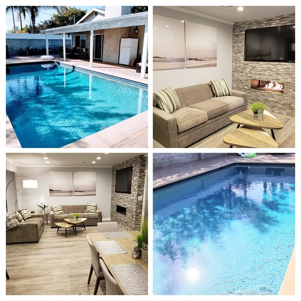 Covello Oasis, Beautiful Fully Remodeled Home Away from home with Pool!!, vacation rental in Bell Canyon