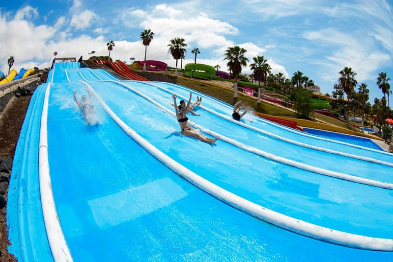 Parchi a tema: Siam Park e Aqualand a 45 minuti di macchina