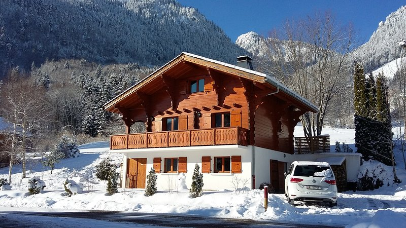 Chalet Chez Maurice, holiday rental in Saint-Gingolph