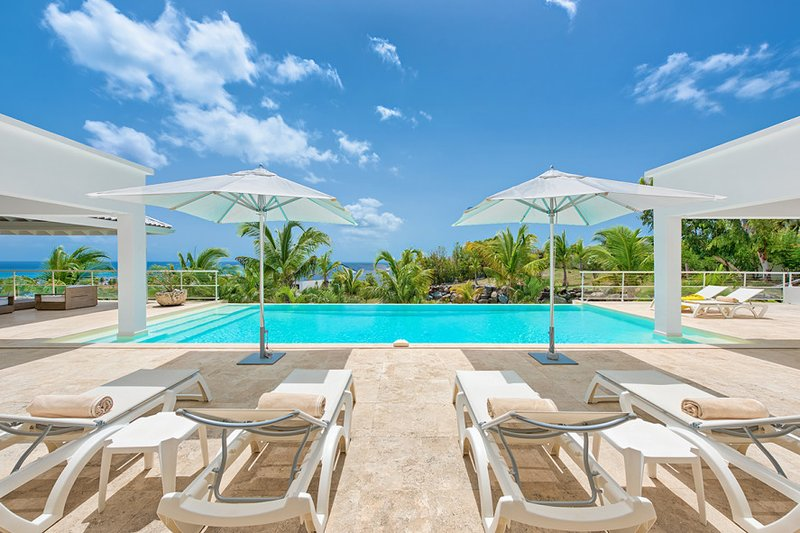 Villa Bamboo, French St Martin, Reserve as a 1 or 2 BR vacation rental.