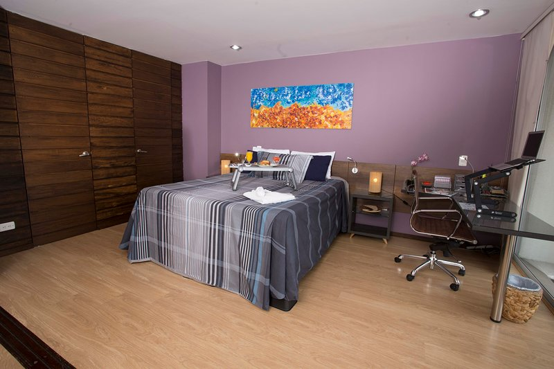 ♬ Super Roof| Queen Bed〚A/C〛♬  All Amenities incl ♕ – semesterbostad i Antioquia Department