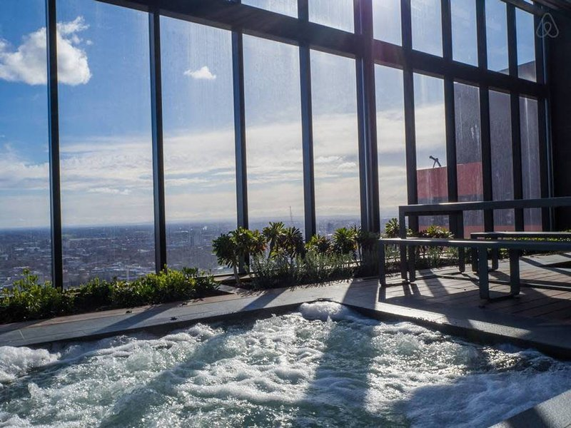 Beautiful Rooftop Spa available to our guests