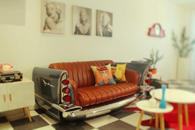Incantevole appartamento anni 50'., vacation rental in Moniga del Garda