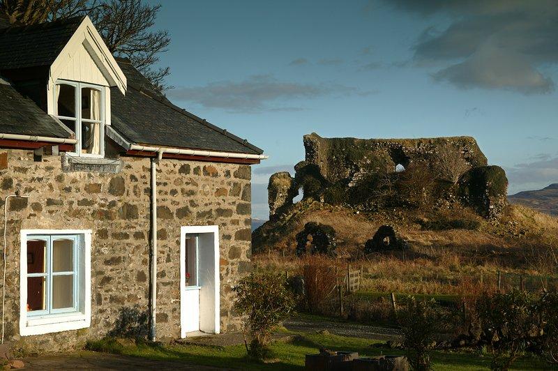 Castle Cottage, location de vacances à Drimnin