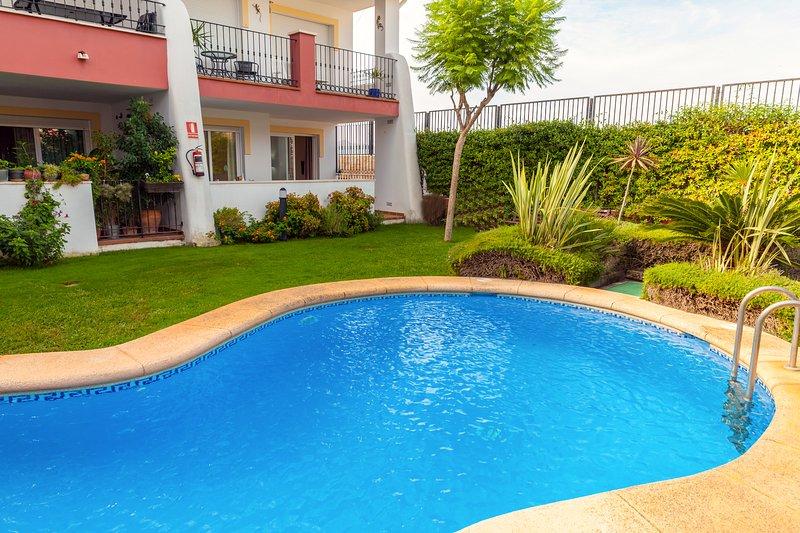 Casa Elche apart in real Spanish town nr Javea, holiday rental in Jesus Pobre