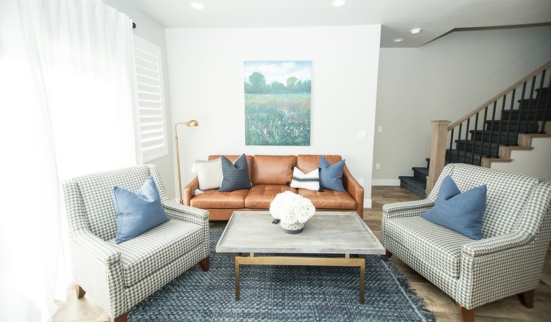 Living Room couch and additional seating