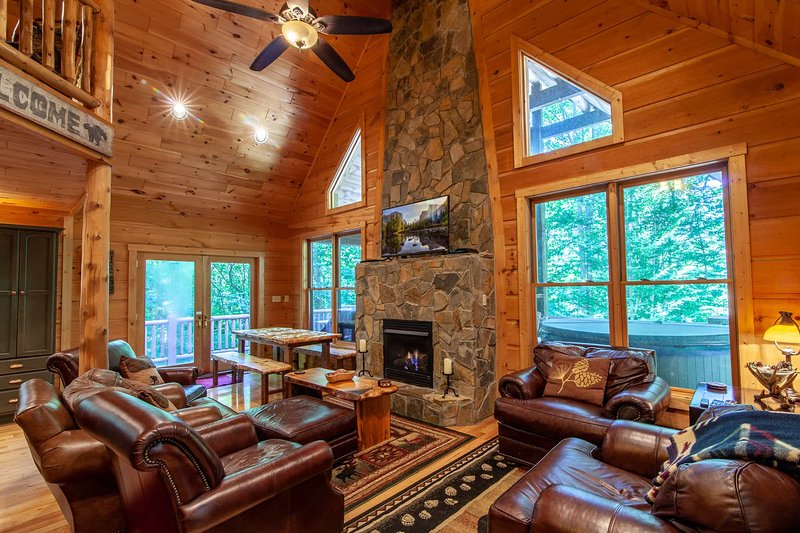 Chestnut Falls, holiday rental in Beech Mountain