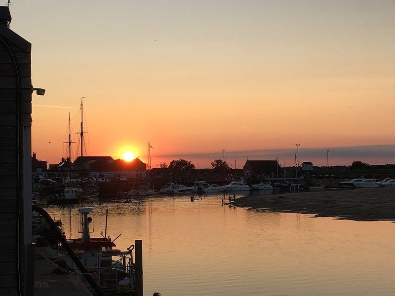 Sunset Wells-next-the-sea