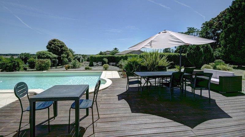 Les Séquoias, chambre Cabernet, holiday rental in Sauveterre-De-Guyenne