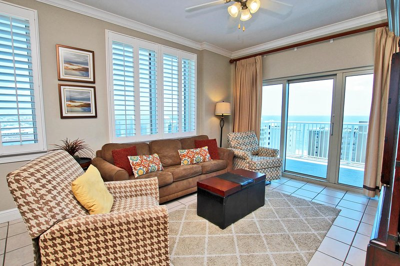 11th Floor Gulf View Corner Condo