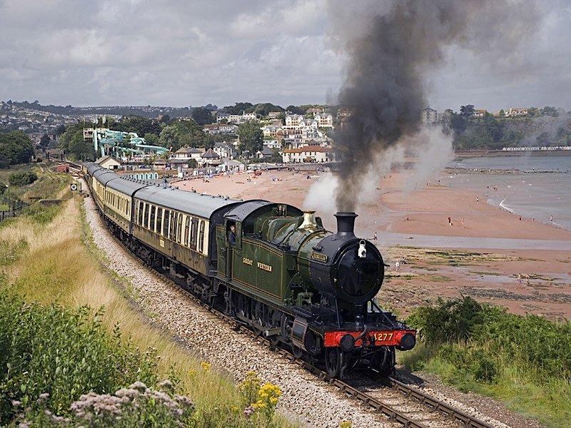 Paignton a Kingswear Steam Railway