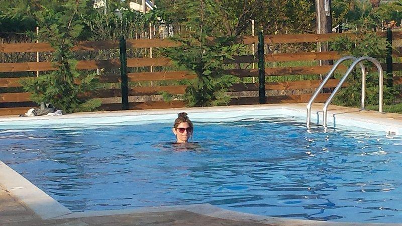 Villa Filia no 3 with pool in Almiros Beach, Acharavi, location de vacances à Acharavi