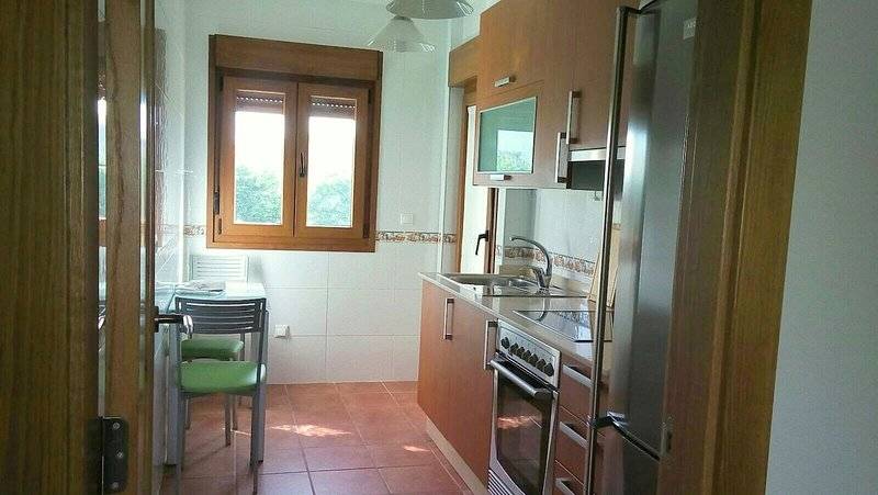 Nice apartment with sea view, holiday rental in Aguino