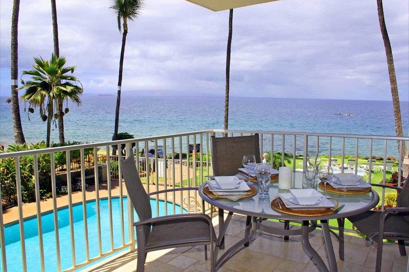 Beautiful Ocean Views - 2nd Floor Floor 2bd/2ba - Kamaole Nalu 205, vacation rental in Kihei