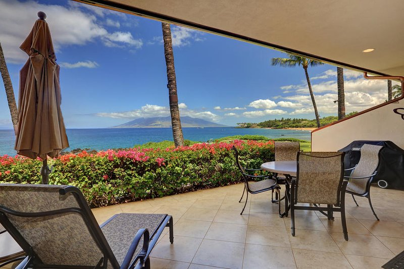 Upgraded Unit w/ Beautiful Ocean Views -MAKENA SURF RESORT, #F-107, aluguéis de temporada em Makena