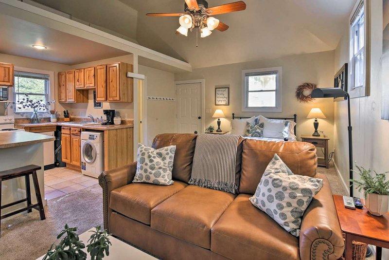 Erleben Sie alle Black Mountain und Asheville in unserem schönen Ferienhaus zu bieten haben.