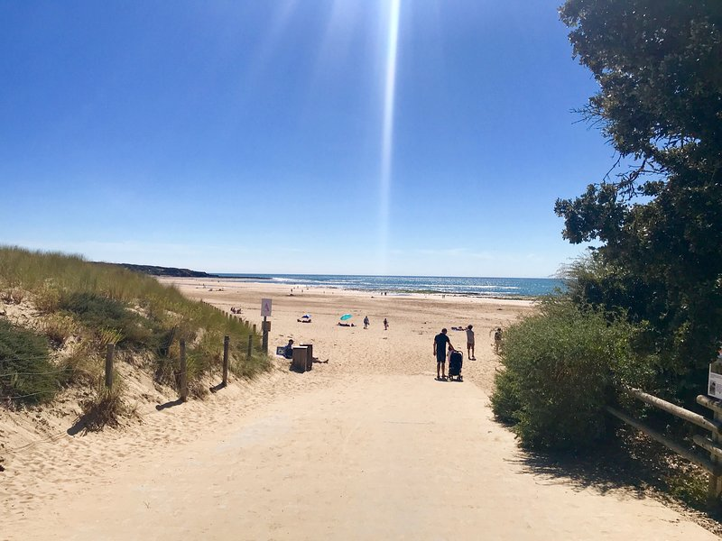 Miles of sandy beaches just 10 mins away