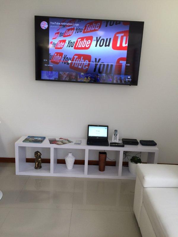 Smart TV met kabel, Netflix en YouTube