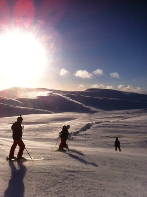 Glenshee 35 minutes drive from Wester Derry