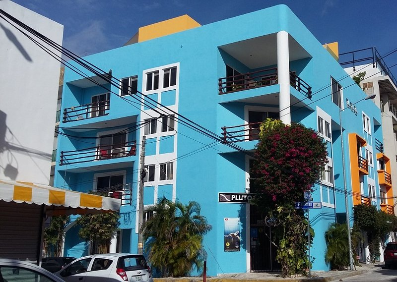 just a few steps from the beach in the heart of Playa del Carmen