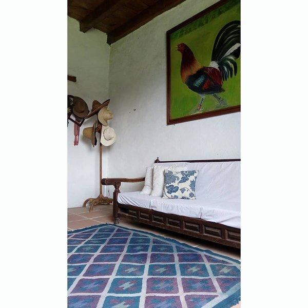 Casa de campo, Naturaleza, location de vacances à Metepec