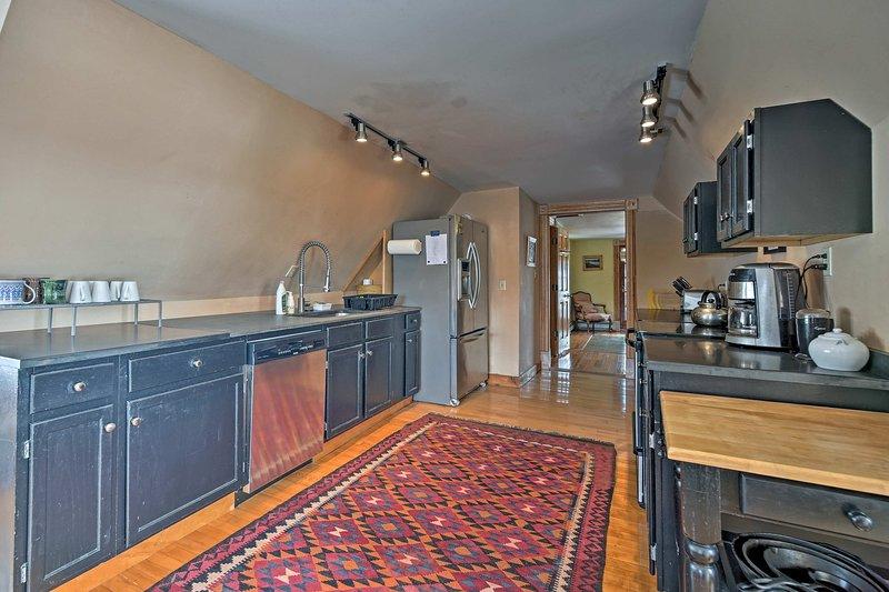 Amplia suite de 1800 pies cuadrados