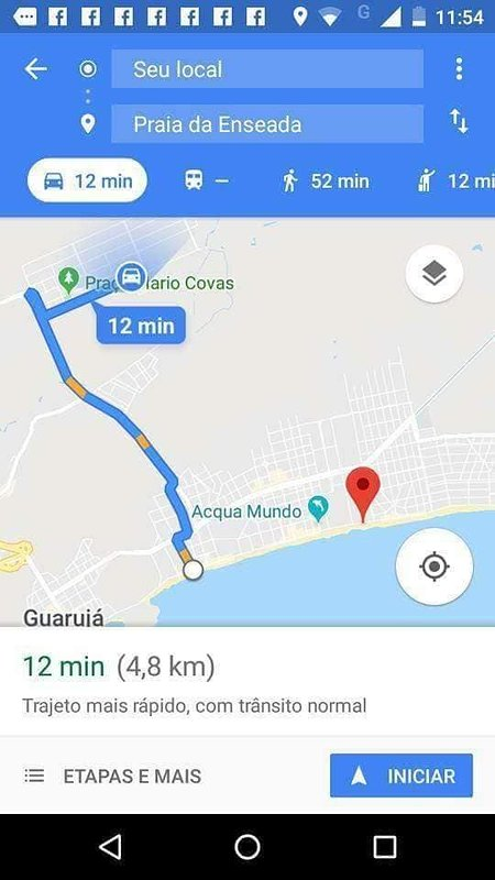 distance from the house to the beach